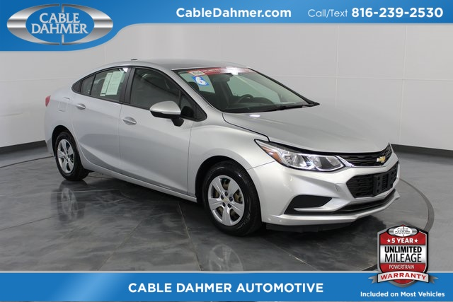 Certified Pre-Owned 2016 Chevrolet Cruze LS