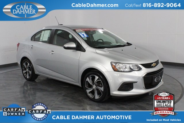 Certified Pre-Owned 2017 Chevrolet Sonic Premier
