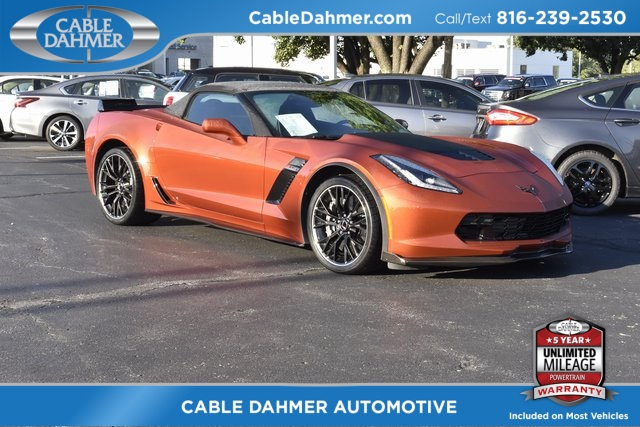 Certified Pre Owned 2015 Chevrolet Corvette Z06 2d Convertible In