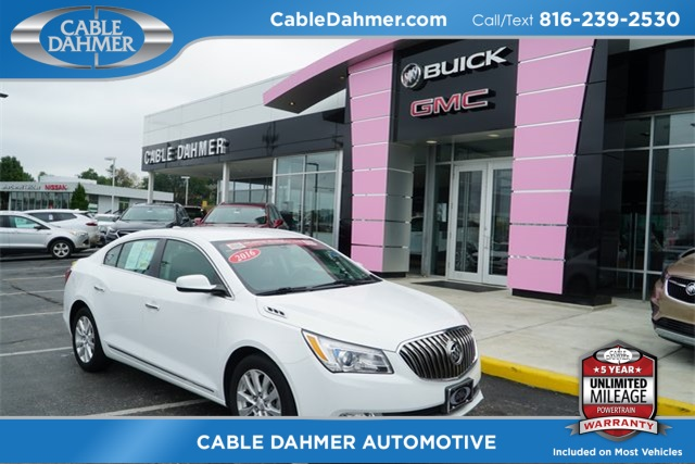Pre-Owned 2016 Buick LaCrosse Base