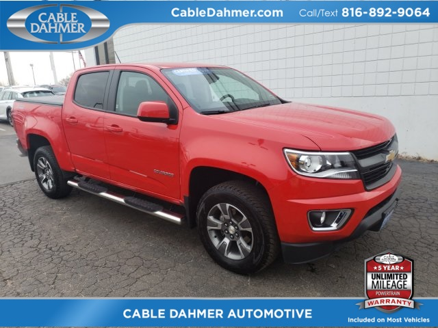 certified pre-owned 2017 chevrolet colorado z71 4d crew cab in
