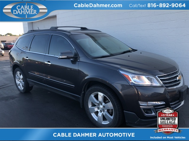 Certified Pre-Owned 2013 Chevrolet Traverse LTZ