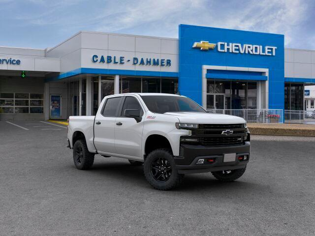 New 2019 Chevrolet Silverado 1500 Lt Trail Boss 4d Crew Cab 96668