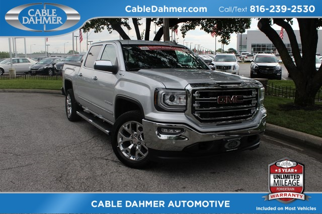 Cable Dahmer Gmc >> Pre Owned 2017 Gmc Sierra 1500 Slt 4wd