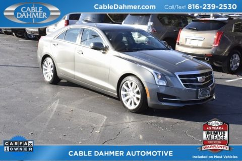 Certified Pre-Owned 2017 Cadillac ATS 2.0L Turbo