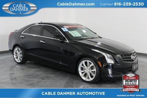 Certified Pre-Owned 2013 Cadillac ATS 2.0L Turbo Performance