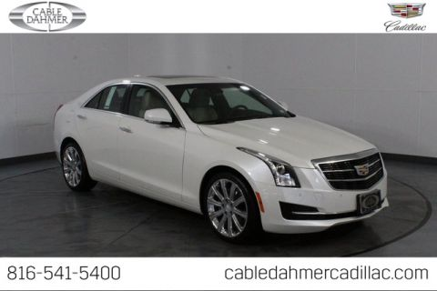 Certified Pre-Owned 2017 Cadillac ATS 2.0L Turbo Luxury With Navigation & AWD