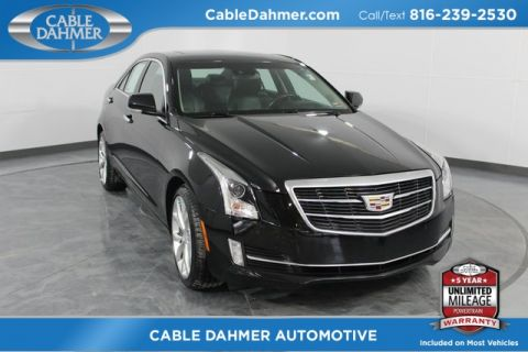 Certified Pre-Owned 2015 Cadillac ATS 3.6L Premium