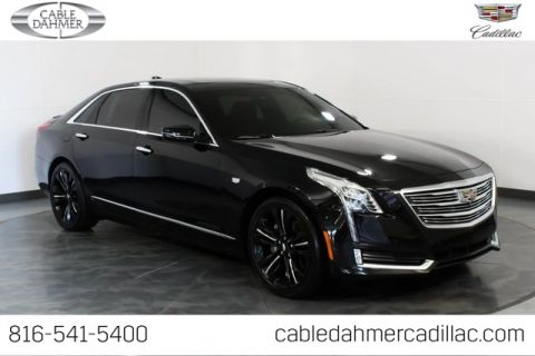 Certified Pre-Owned 2016 Cadillac CT6 3.0L Twin Turbo Platinum With Navigation & AWD