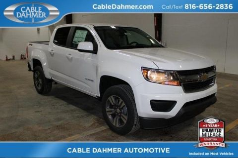 New 2018 Chevrolet Colorado 4WD Work Truck