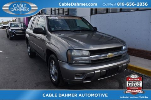 Pre-Owned 2008 Chevrolet TrailBlazer LS 4WD