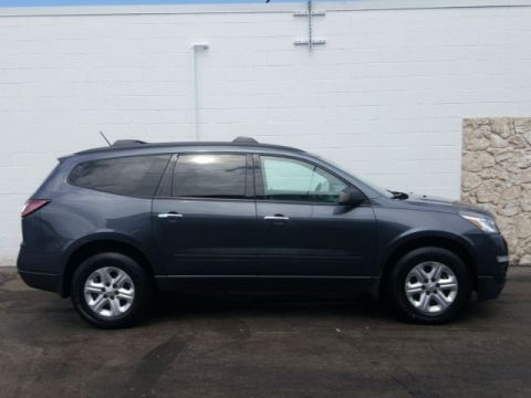 Pre-Owned 2014 Chevrolet Traverse LS AWD