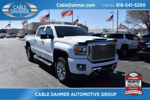 Pre-Owned 2017 GMC Sierra 2500HD Denali With Navigation & 4WD