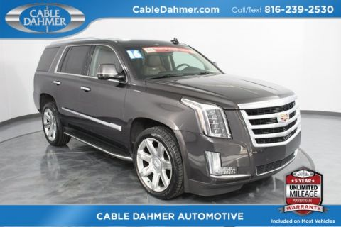 Certified Pre-Owned 2016 Cadillac Escalade Luxury