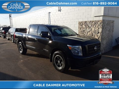 Pre-Owned 2018 Nissan Titan S RWD 4D Crew Cab