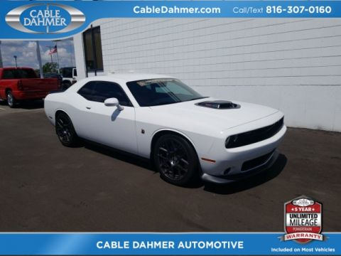 Pre-Owned 2016 Dodge Challenger R/T Scat Pack RWD 2D Coupe
