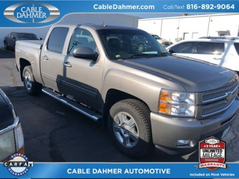 Certified Pre-Owned 2012 Chevrolet Silverado 1500 LTZ