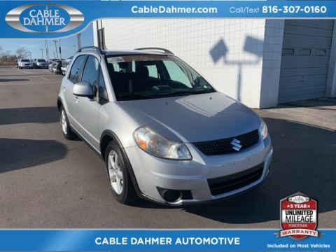 Pre-Owned 2010 Suzuki SX4 Base AWD