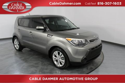Certified Pre-Owned 2015 Kia Soul Plus FWD 4D Hatchback